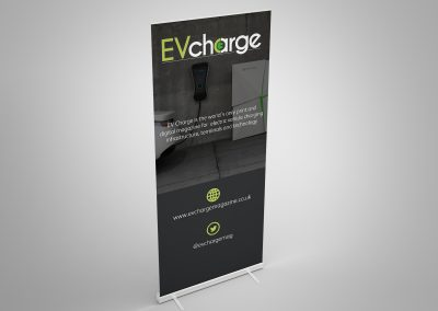 EVCharge roll up banner